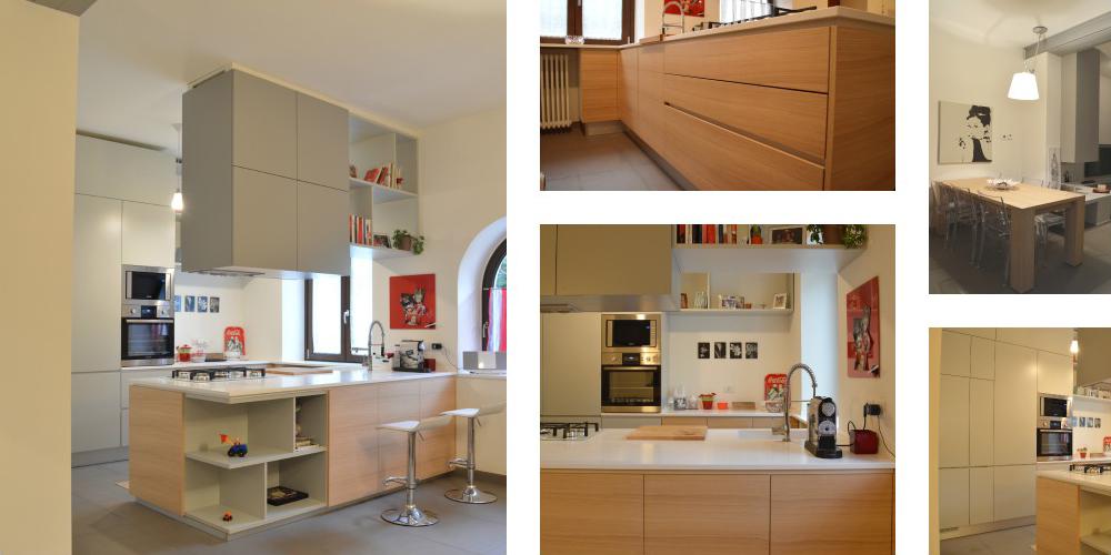 Cucine con penisola okap mobili su misura - Ikea penisola cucina ...