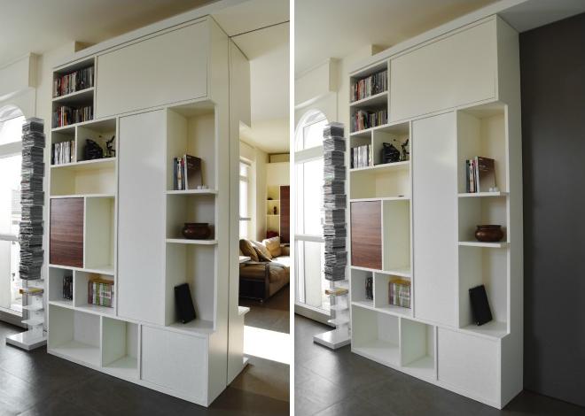 Pareti componibili moderne parete attrezzata foto design for Pareti moderne colorate