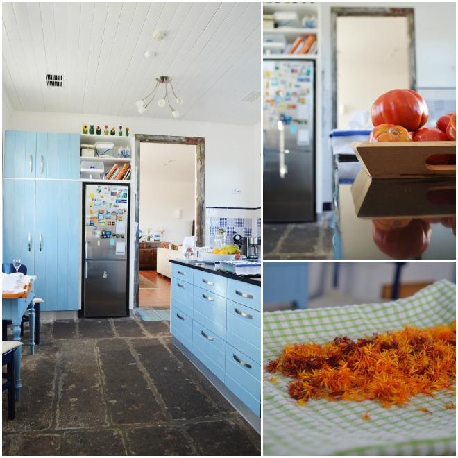 Okap mobili su misura interni - Cucina rustica in pietra ...