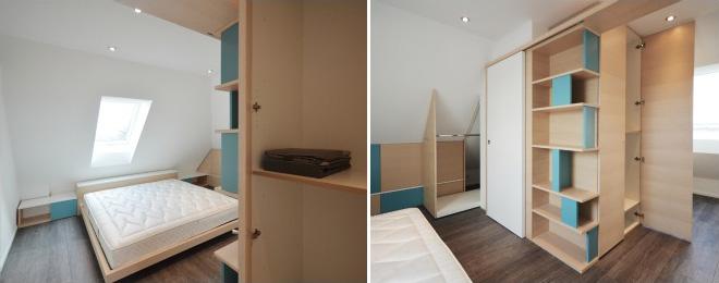 Okap mobili su misura interni - Scarpe da letto ...