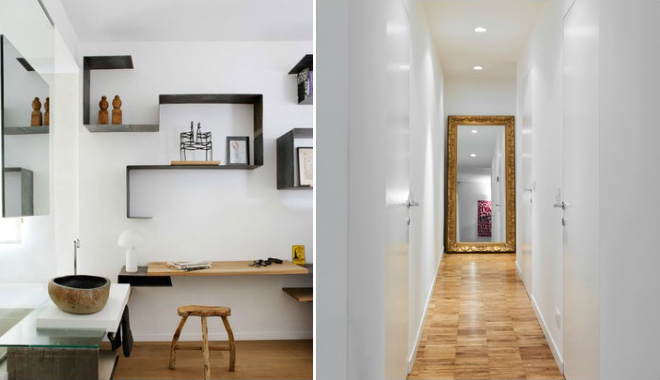 Arredare spazi piccoli okap mobili su misura - Scale per appartamenti ...