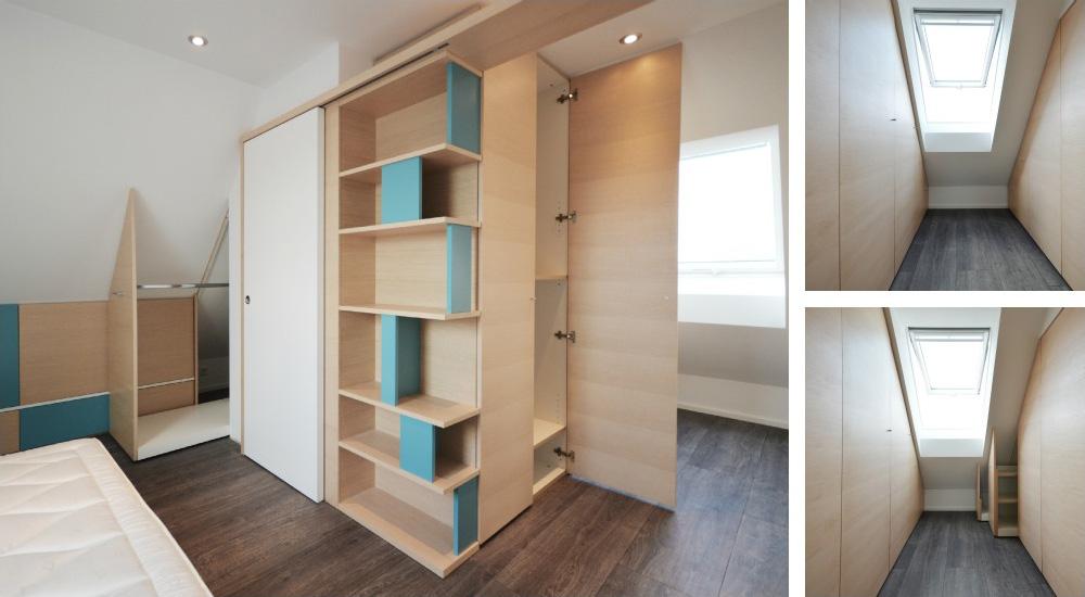 nasce dall'esigenza di ottimizzare lo spazio della camera da letto ...
